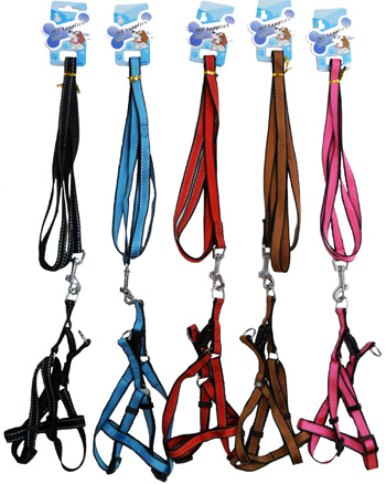 PS23284 1.5cm Dog Harness (reflective)-240/case